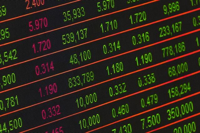 hodnoty akcií