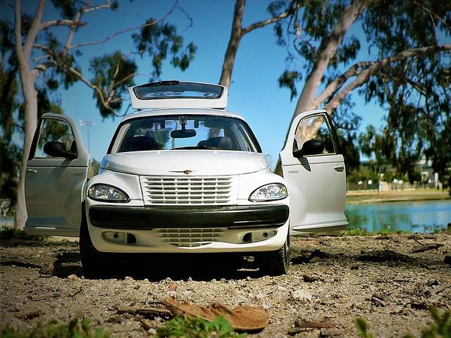 auto u vody