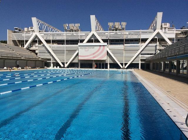 plavecký hotelový bazén